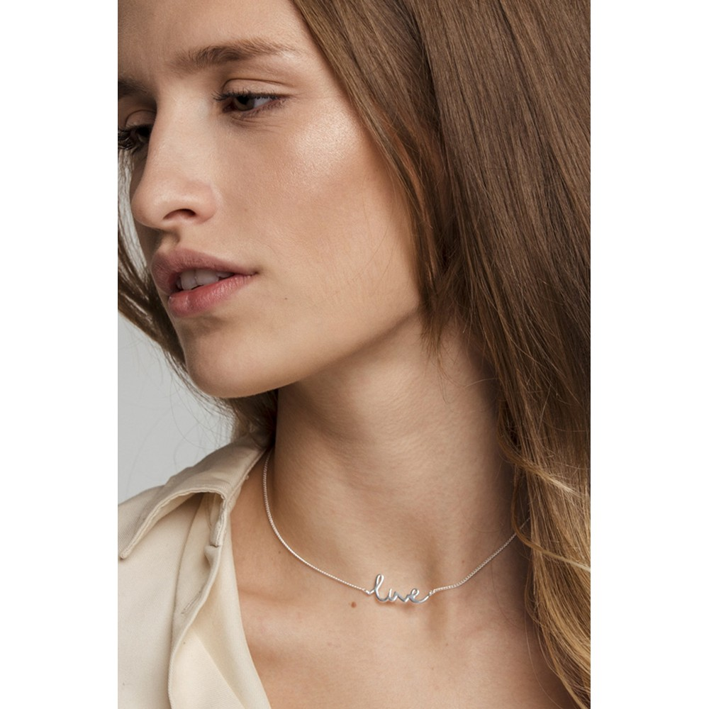 Tutti&Co Live Necklace Silver