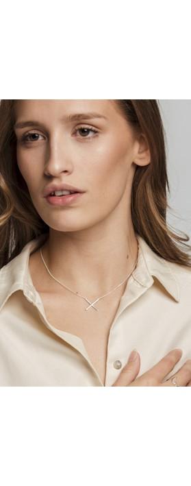 Tutti&Co Unity Necklace Silver