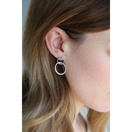 Tutti&Co Orbit Earrings  - Gold