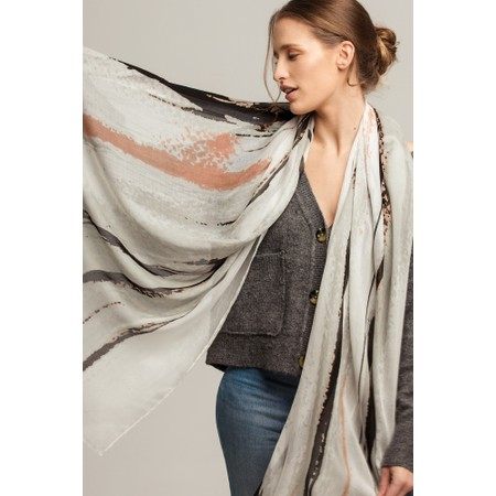 Tutti&Co Groove Scarf  - Pink