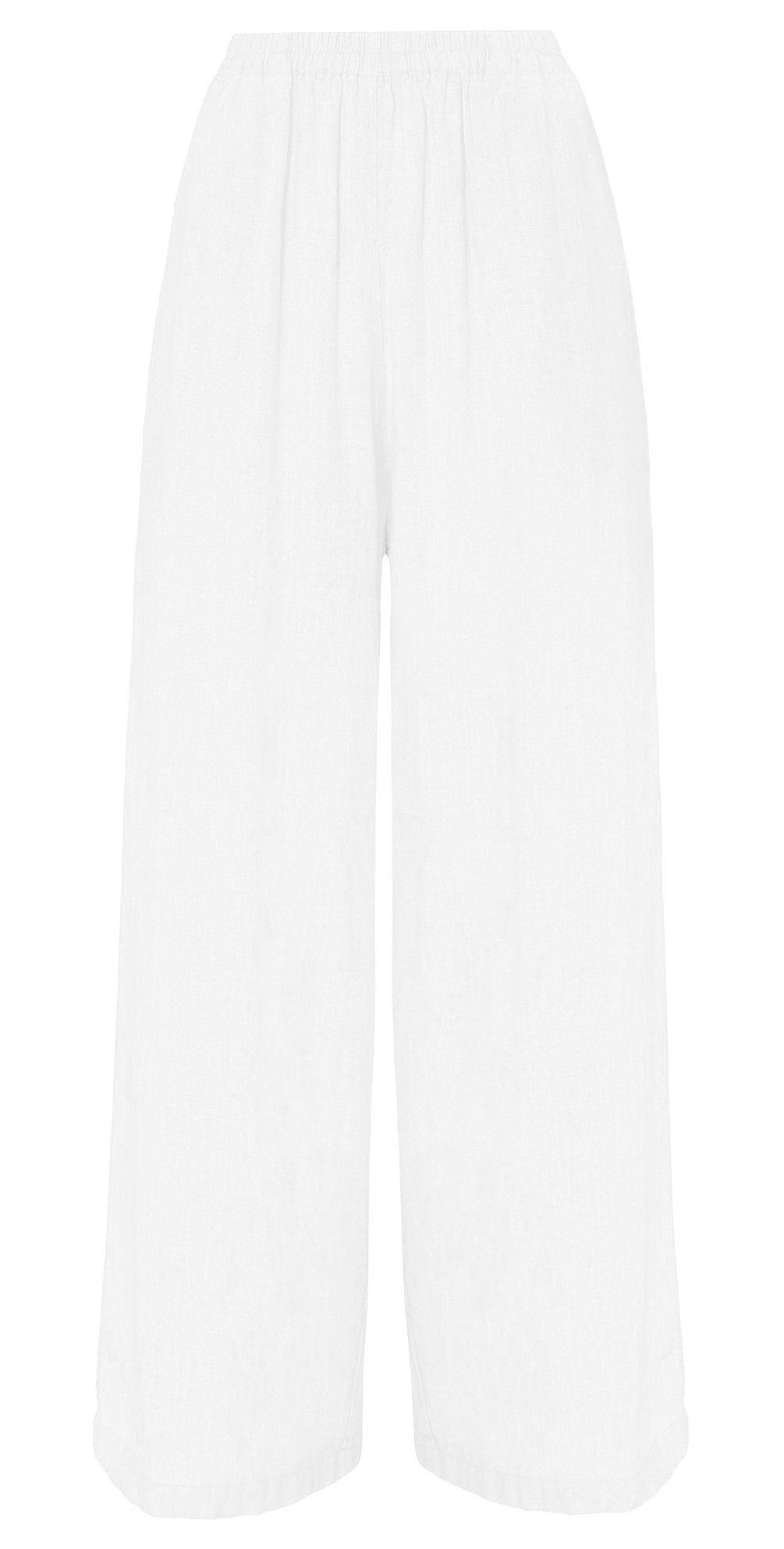 Textured Linen Culottes main image