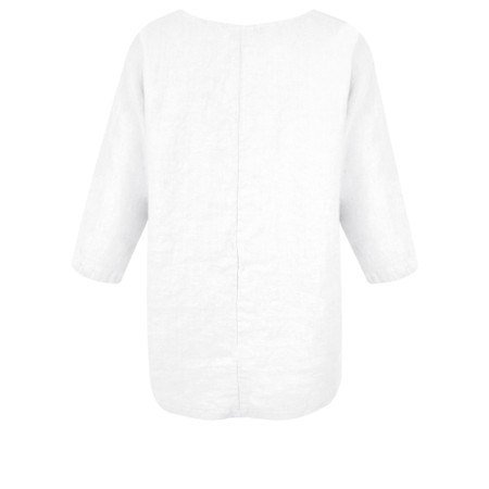 Thing Linen Pocket Top - White