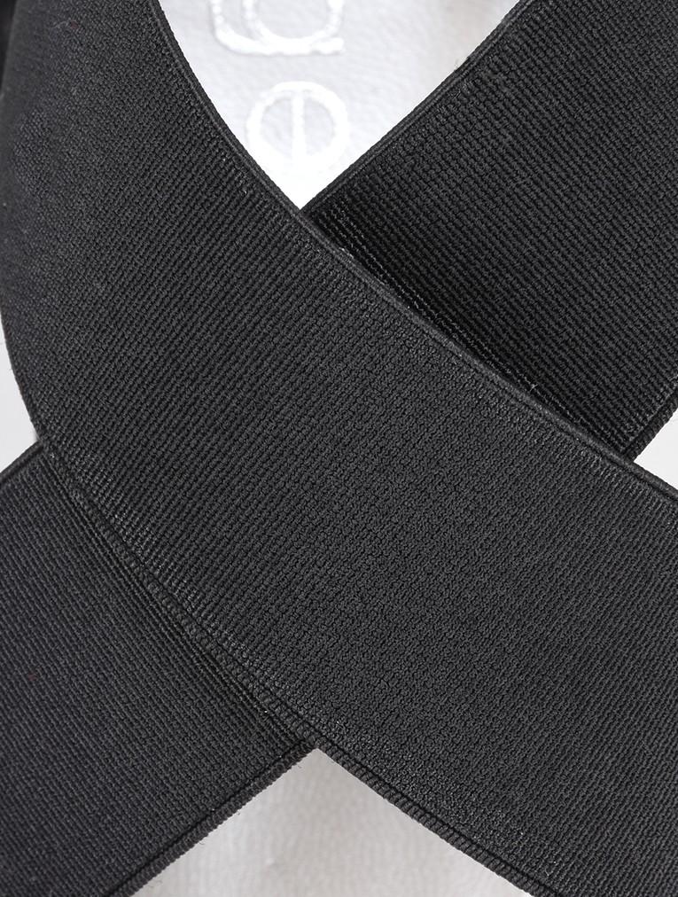 Vesta Black Suede Sandal main image
