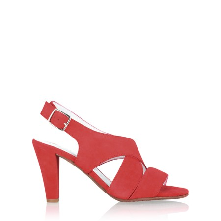 Gemini Label Shoes Valkyrie Sandal - Red