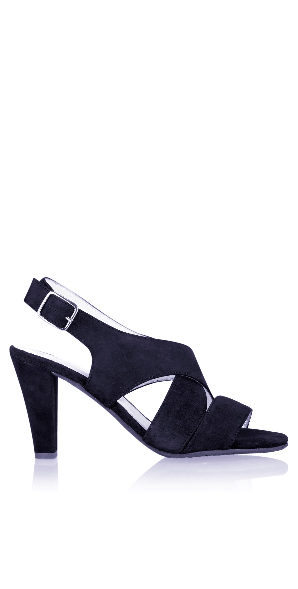 Valkyrie Navy Suede Sandal main image