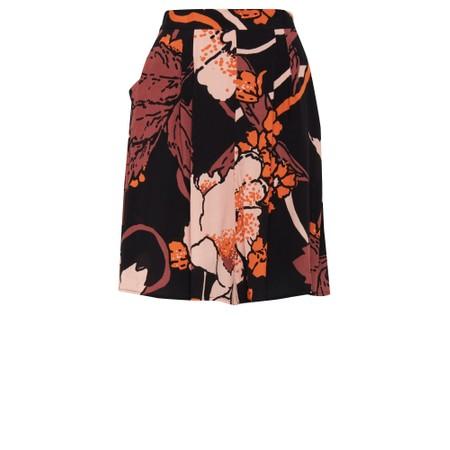 ICHI Chelsea Print Shorts - Black