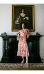 Great Plains Rust Multi Combo Tulum Floral Maxi Dress