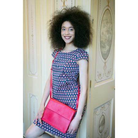 Caroline Gardner Hoxton Cross Body Handbag  - Red