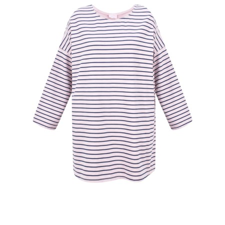 Aisling Dreams Finn Oversized Stripe Top - Pink