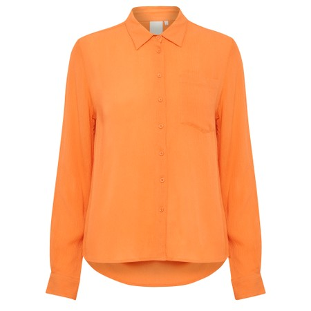 ICHI Marrakech Shirt - Orange