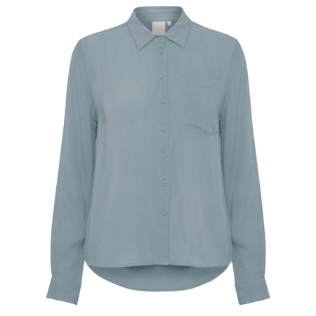 ICHI Marrakech Shirt - Blue