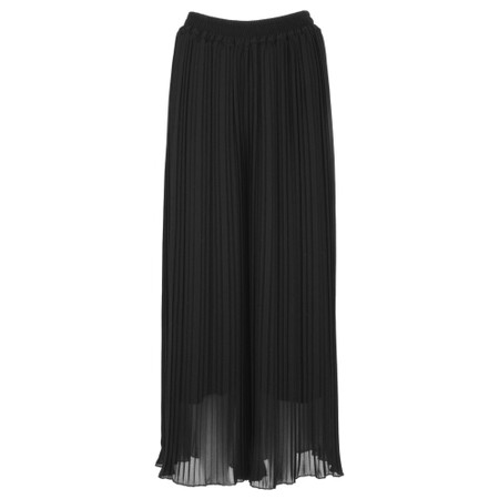 Aisling Dreams Palazzo Pleated Culottes - Black