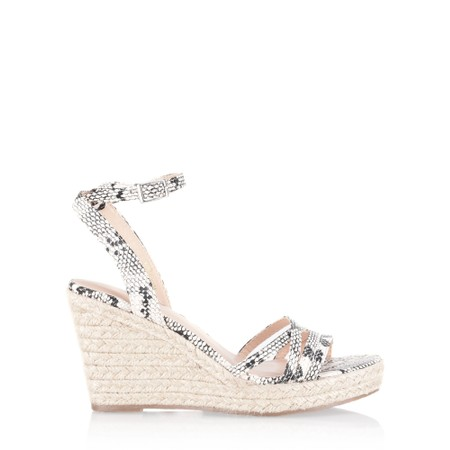KimShu Penelope Wedge Sandal  - Grey
