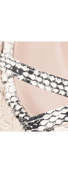 KimShu Penelope Wedge Sandal  Snake