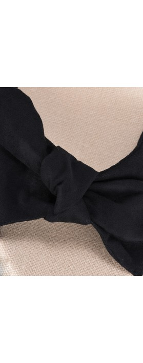 KimShu Tillie Espadrille Wedge  Black