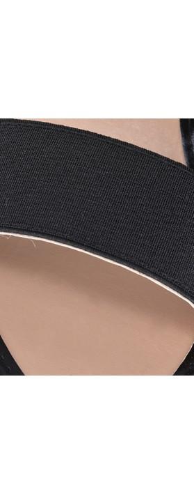 KimShu Liberty Wedge sandal  Black