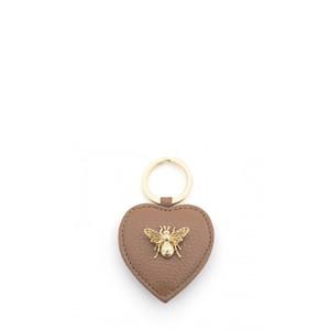 Bill Skinner Bumble Bee Heart Keyring