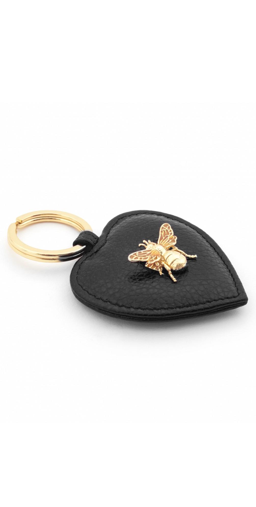 Bumble Bee Heart Keyring main image