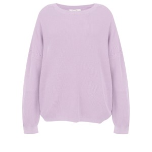 Sandwich Clothing Cotton Rib Knit Jumper