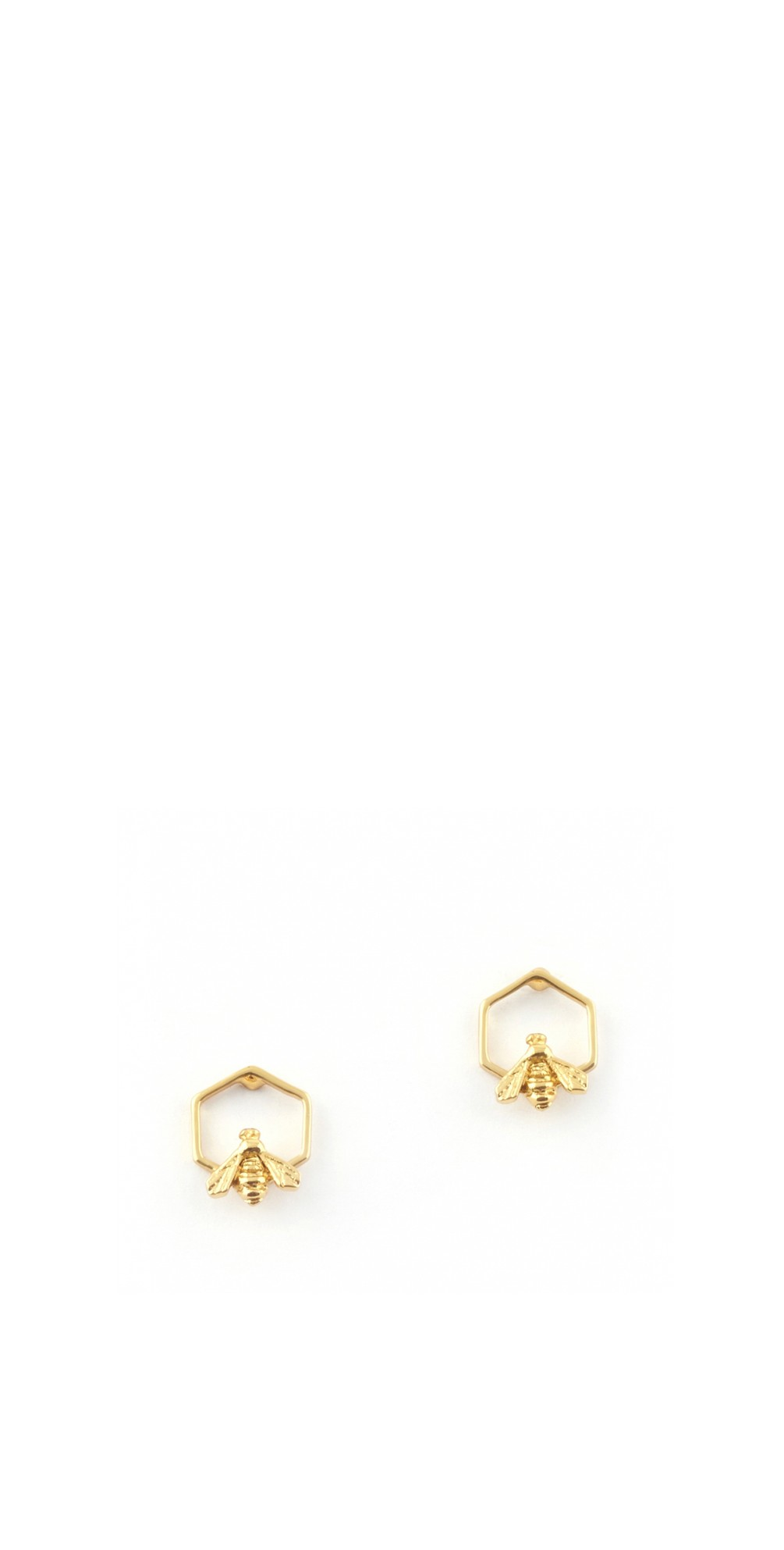 Hylaeus Bee Stud Earring  main image