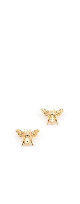 Bill Skinner Carpenter Bee Small Stud Gold