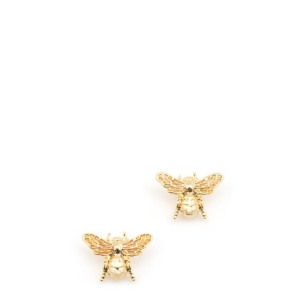 Bill Skinner Carpenter Bee Small Stud - Gold