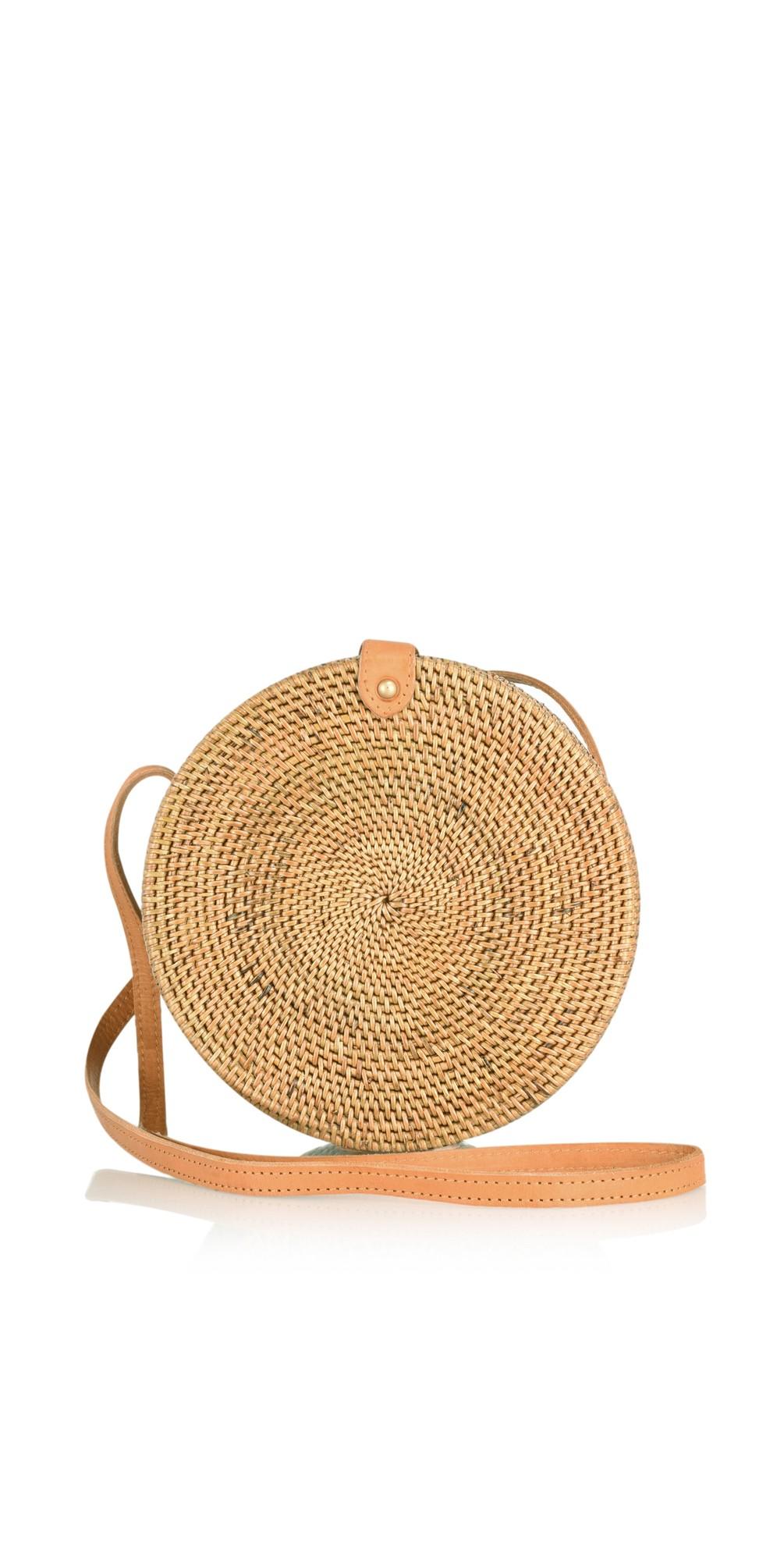 Palermo Round Basket Bag main image