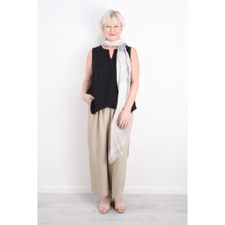 Sahara Natural Linen Culottes - Beige
