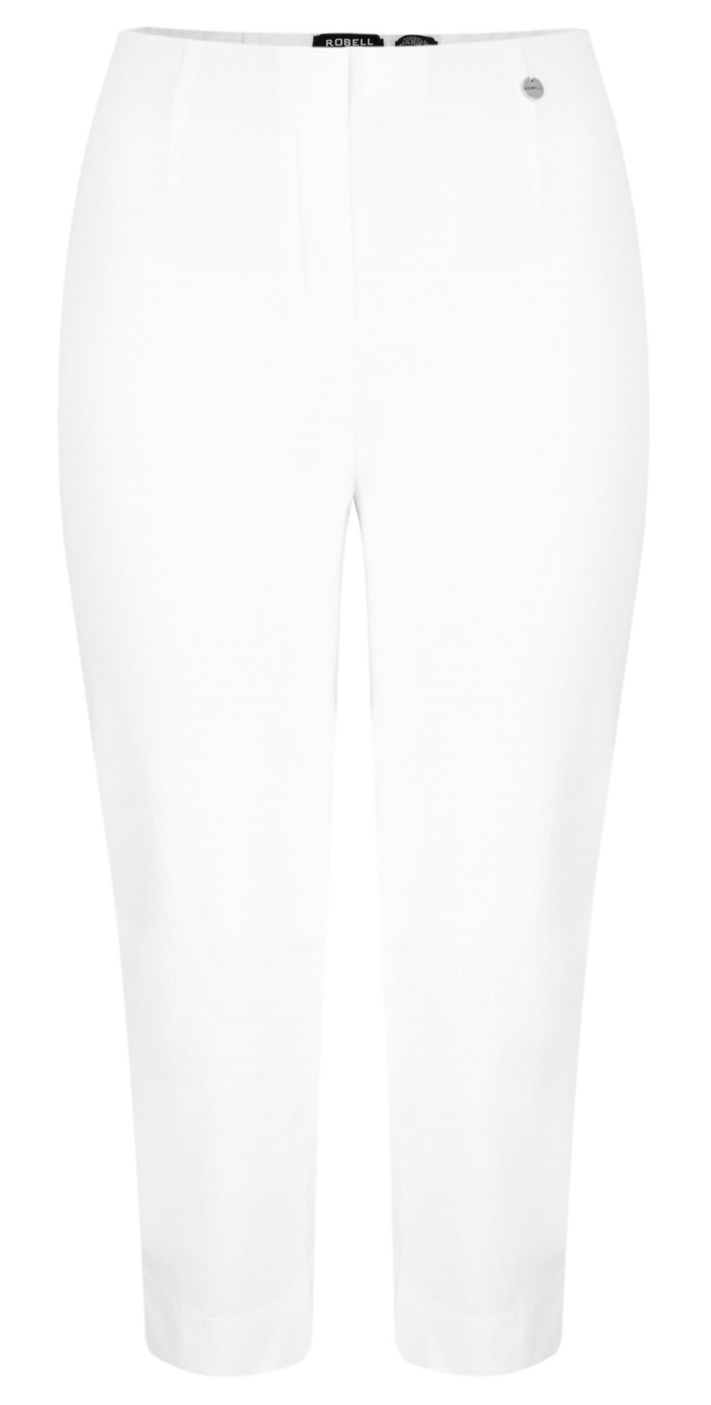 Marie 07 White Cropped Trouser main image