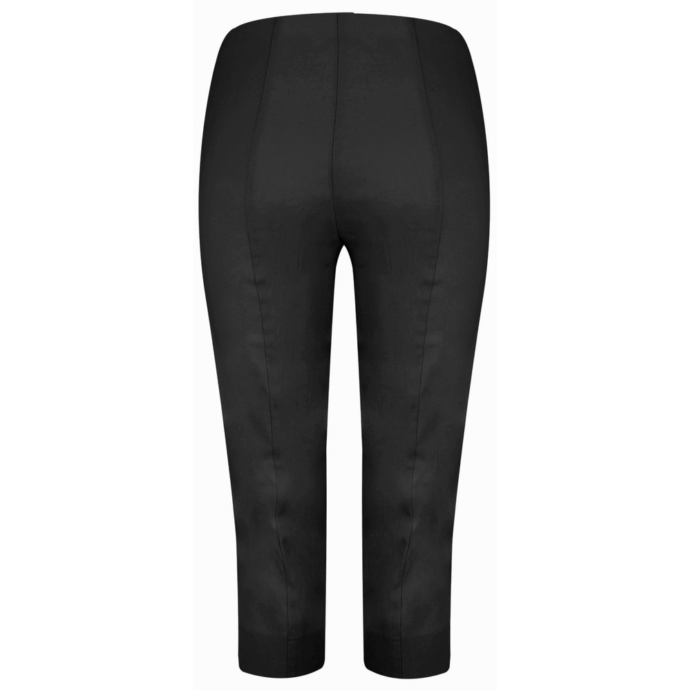 Robell Marie 07 Black Cropped Trouser Black 90