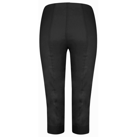 Robell  Marie 07 Cropped Trouser - Black