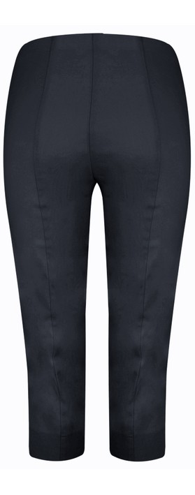 Robell Marie 07 Navy Cropped Trouser Navy 69