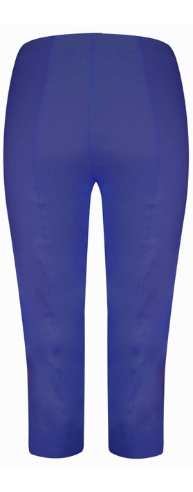 Robell Marie 07 Royal Blue Cropped Trouser Royal Blue 67
