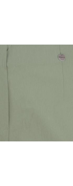 Robell Marie 07 Khaki Cropped Trouser Khaki 881
