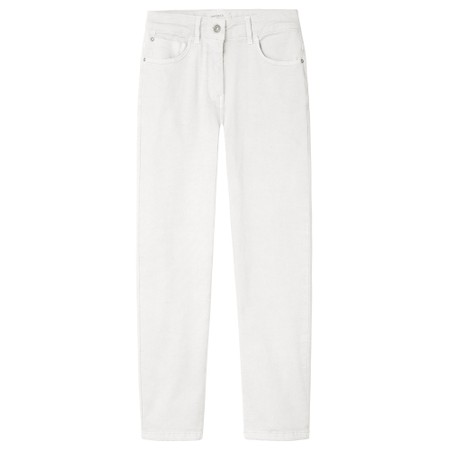 Sandwich Clothing Essentials Cropped Trouser - White
