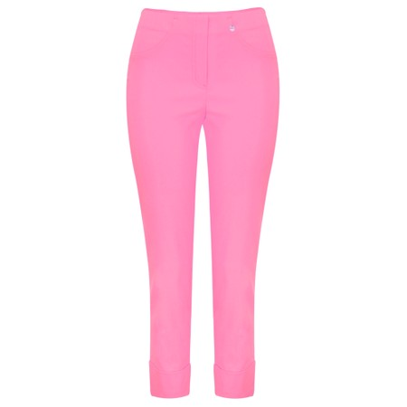 Robell Trousers Bella 09 Ankle Length 7/8 Cuff Trouser - Pink