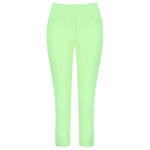 Robell  Bella 09 Pale Lime Ankle Length 7/8 Cuff Trouser