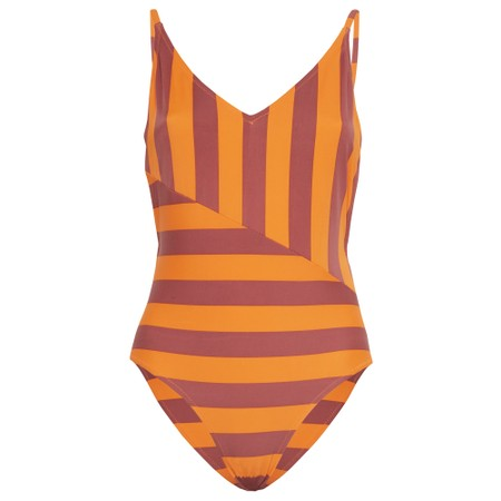 ICHI Sunny Swimsuit - Orange