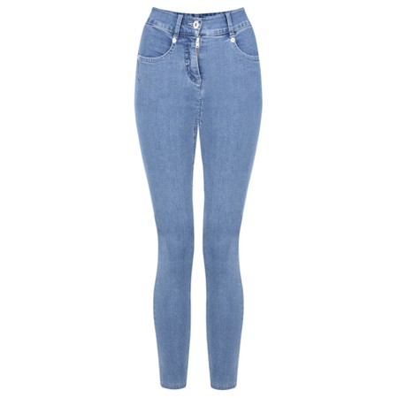 Robell Trousers Star 09 Power Stretch Cropped Skinny jean - Blue