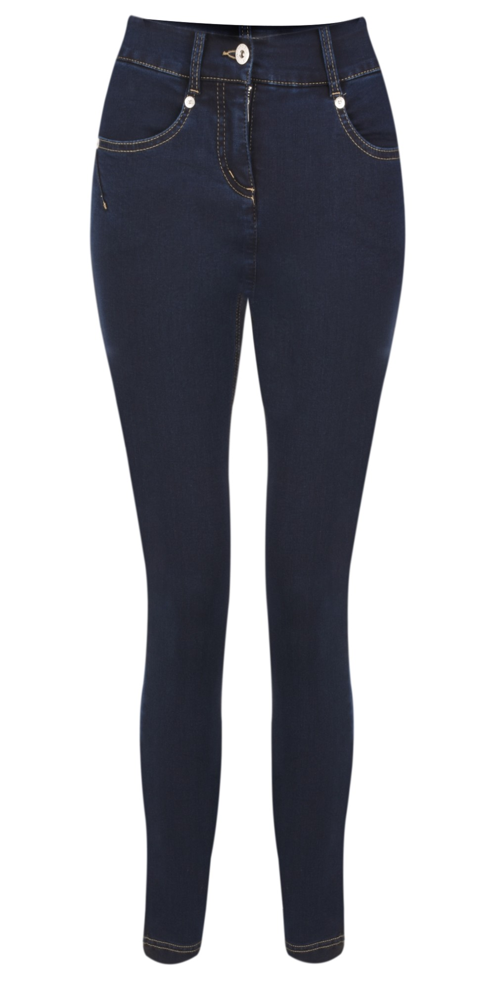 Star 09 Navy Power Stretch Cropped Skinny jean main image