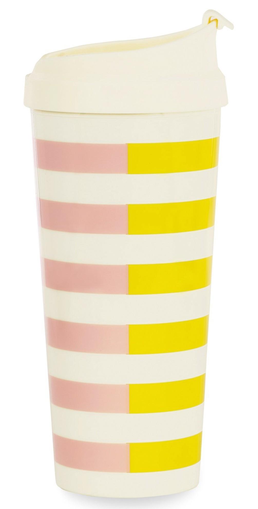 Two-Tone Stripes Thermal Mug main image