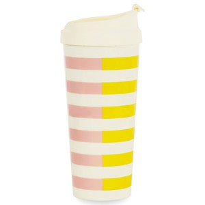 Kate Spade Two-Tone Stripes Thermal Mug