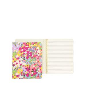 Kate Spade Floral Dot Concealed Spiral Notebook