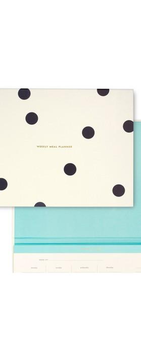 Kate Spade Deco Dot Weekly Meal Planner Cream