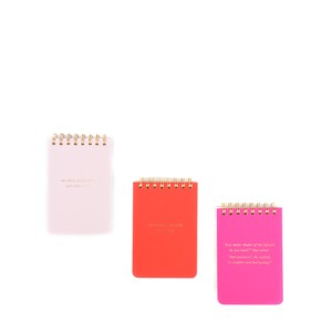Kate Spade She Statements Spiral Notepad Set