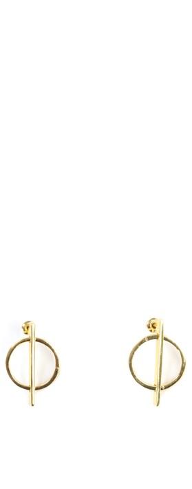 Tutti&Co Sphere Earrings Gold