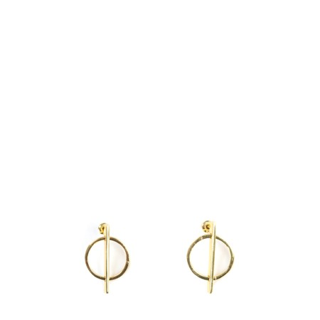 Tutti&Co Sphere Earrings - Gold