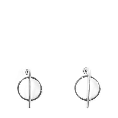 Tutti&Co Sphere Earrings - Metallic