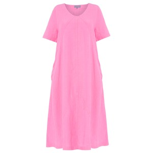 Sahara Panelled A-Line Linen Dress