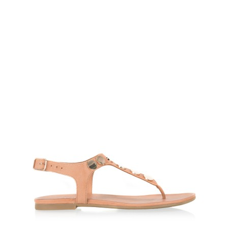 INUOVO Laura Flat Sandal  - Brown